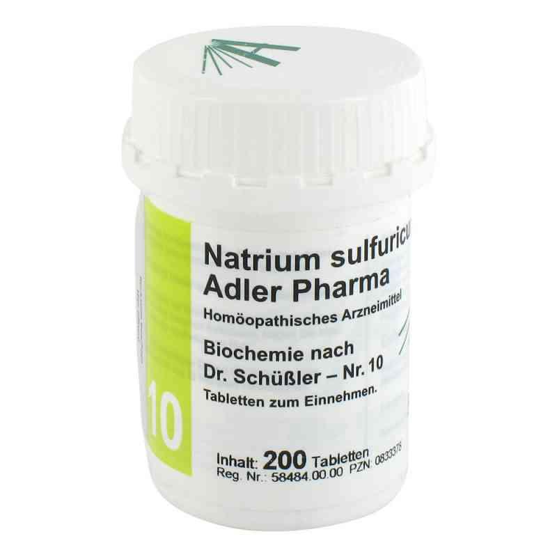 Biochemie Adler 10 Natrium sulf.D6 Adl.ph. Tabletten   bei deutscheinternetapotheke.de bestellen