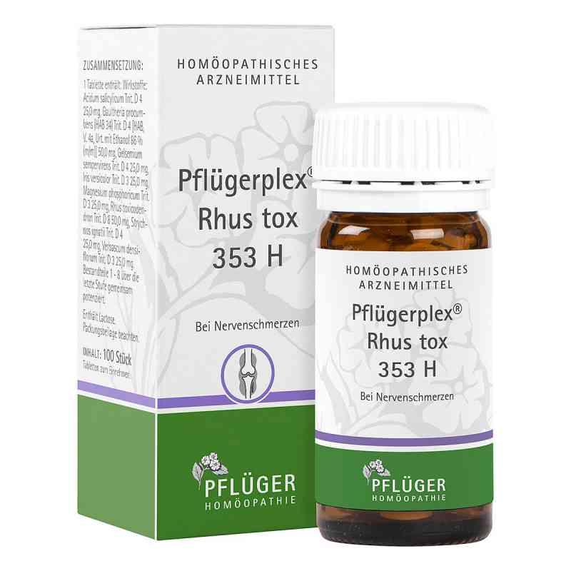 Pflügerplex Rhus tox. 353 H Tabletten  bei deutscheinternetapotheke.de bestellen