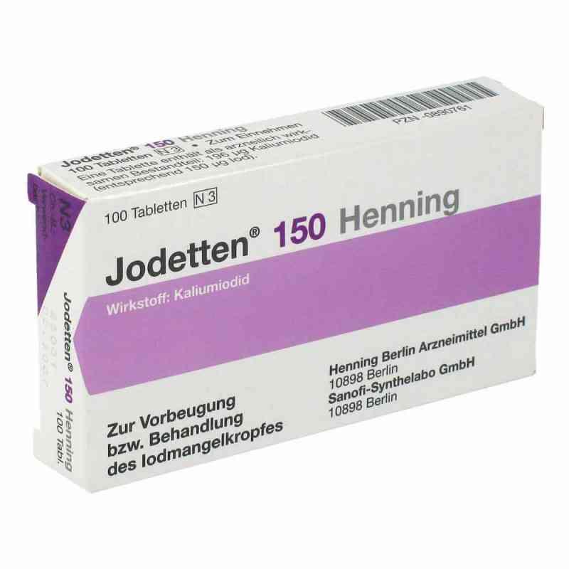 Jodetten 150 Henning 150 Mikrogramm  bei deutscheinternetapotheke.de bestellen