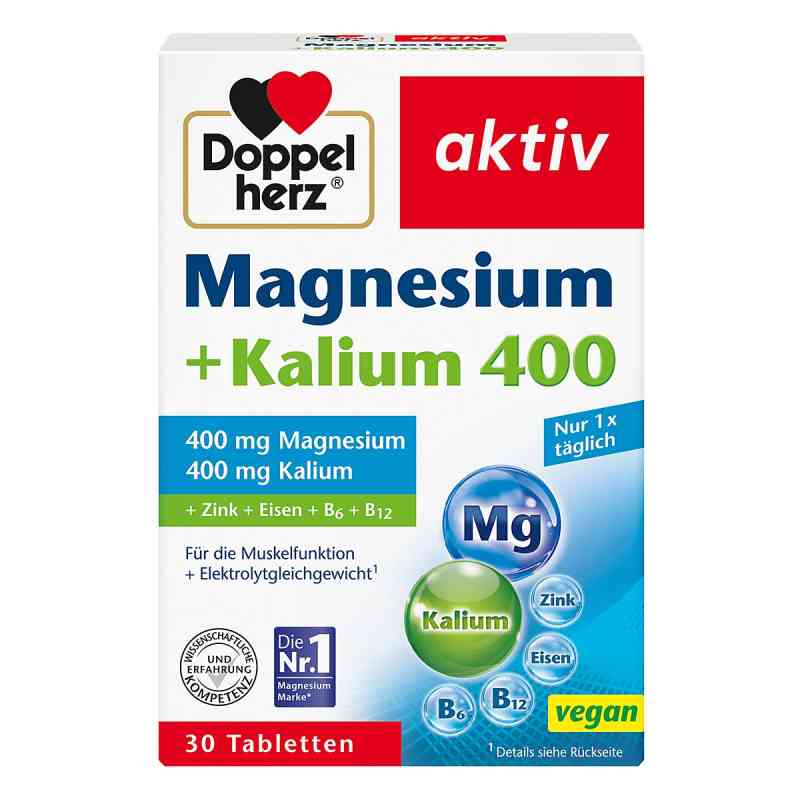 Doppelherz Magnesium + Kalium Tabletten  bei deutscheinternetapotheke.de bestellen