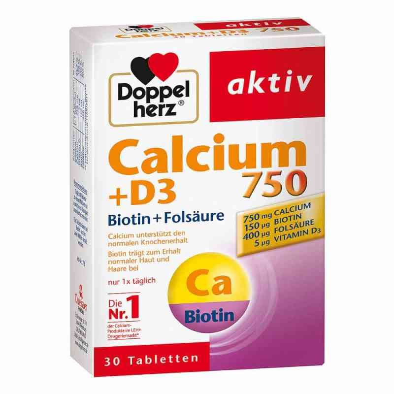 Doppelherz Calcium 750 + D3 + Biotin Tabletten  bei deutscheinternetapotheke.de bestellen