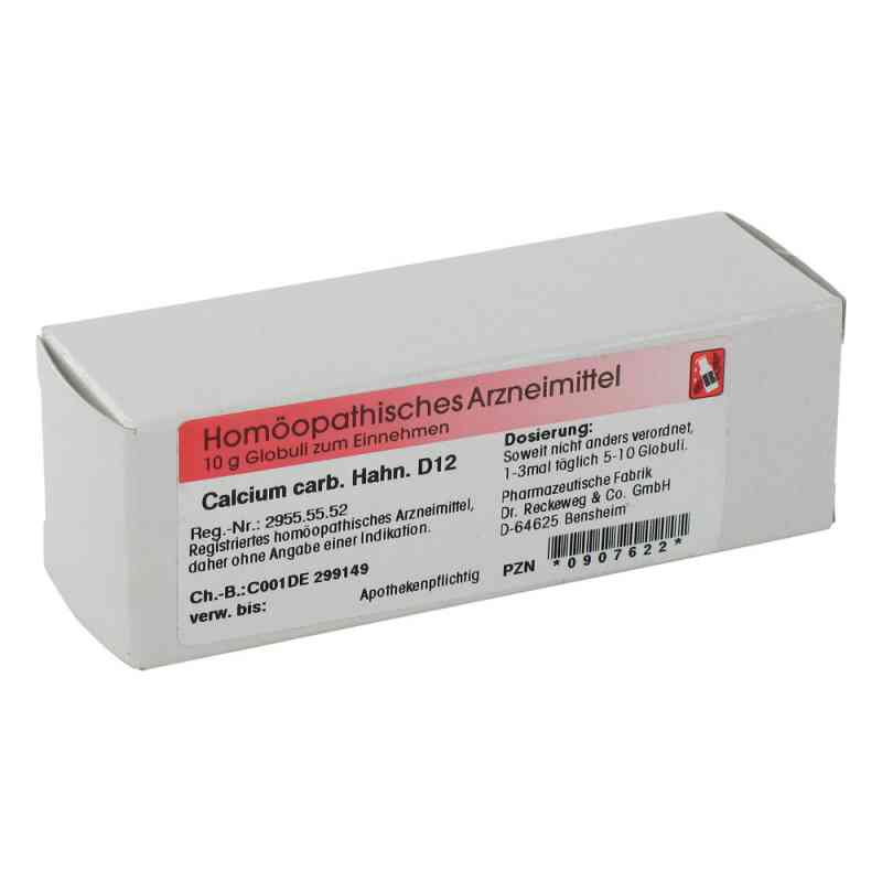 Calcium Carbonicum Hahnemanni D 12 Globuli  bei deutscheinternetapotheke.de bestellen