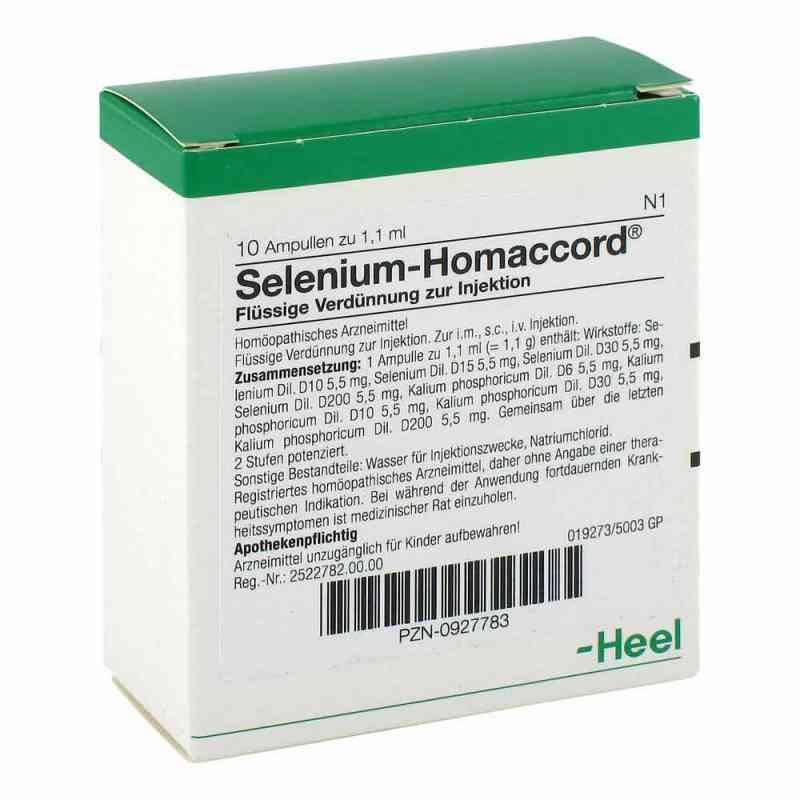 Selenium Homaccord Ampullen  bei deutscheinternetapotheke.de bestellen