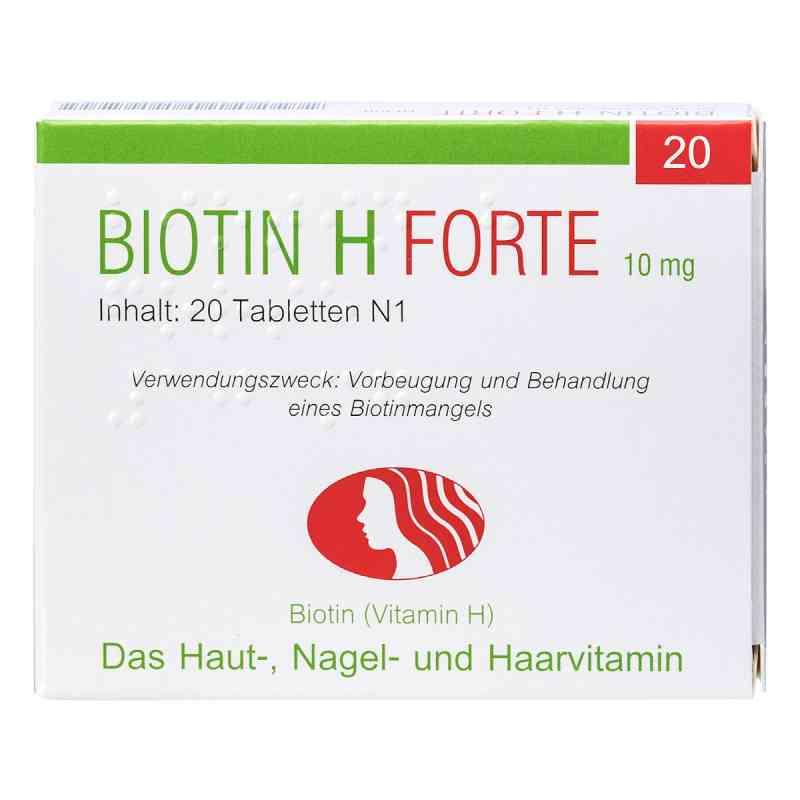 Biotin H forte Tabletten  bei deutscheinternetapotheke.de bestellen