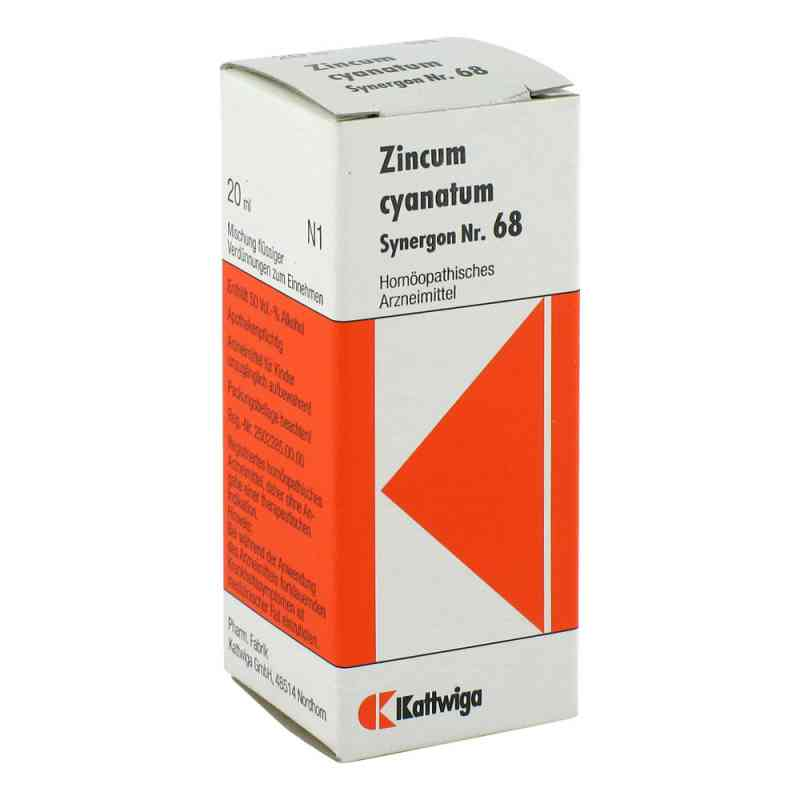 Synergon 68 Zincum cyanatum Tropfen  bei deutscheinternetapotheke.de bestellen