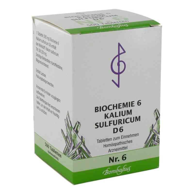 Biochemie 6 Kalium sulfuricum D6 Tabletten  bei deutscheinternetapotheke.de bestellen