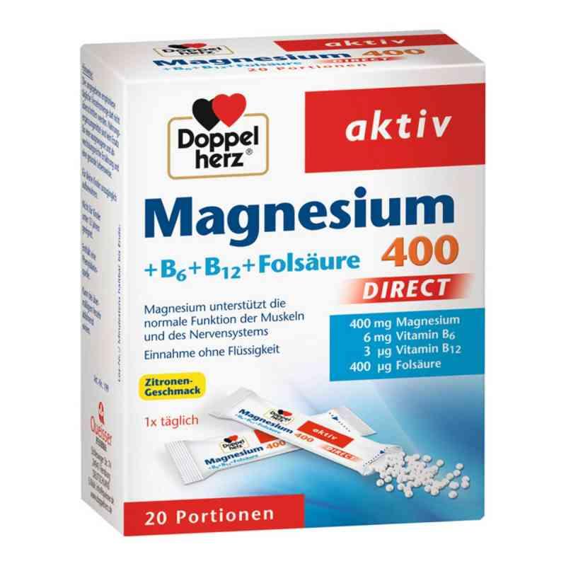 Doppelherz Magnesium + B Vitamine Direkt Pellets  bei deutscheinternetapotheke.de bestellen