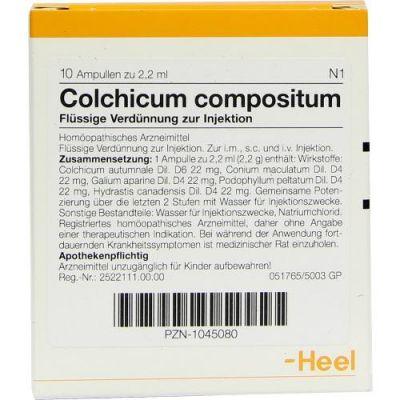 Colchicum Compositum Ampullen  bei deutscheinternetapotheke.de bestellen