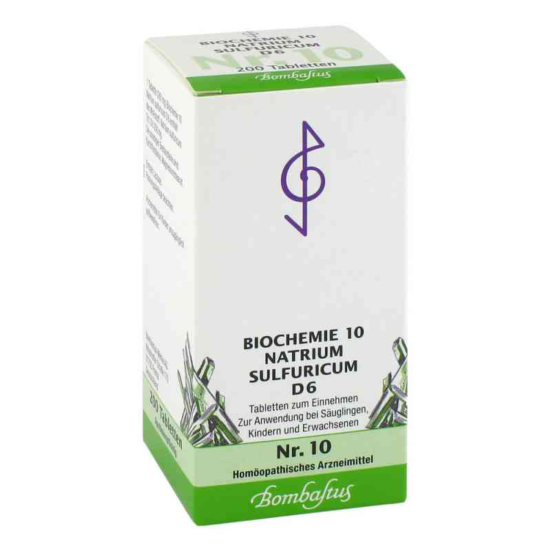 Biochemie 10 Natrium sulfuricum D6 Tabletten Bombastus  bei deutscheinternetapotheke.de bestellen