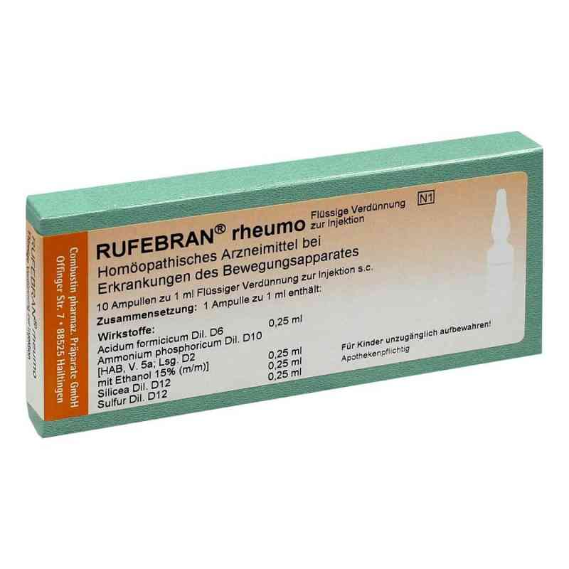 Rufebran rheumo Ampullen  bei deutscheinternetapotheke.de bestellen