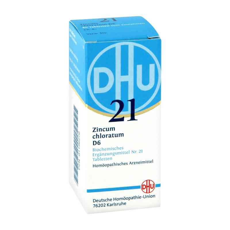 Biochemie Dhu 21 Zincum chloratum D6 Tabletten  bei deutscheinternetapotheke.de bestellen