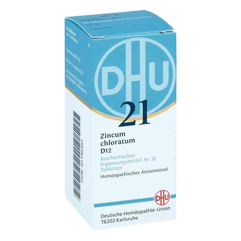 Biochemie Dhu 21 Zincum chloratum D12 Tabletten  bei deutscheinternetapotheke.de bestellen