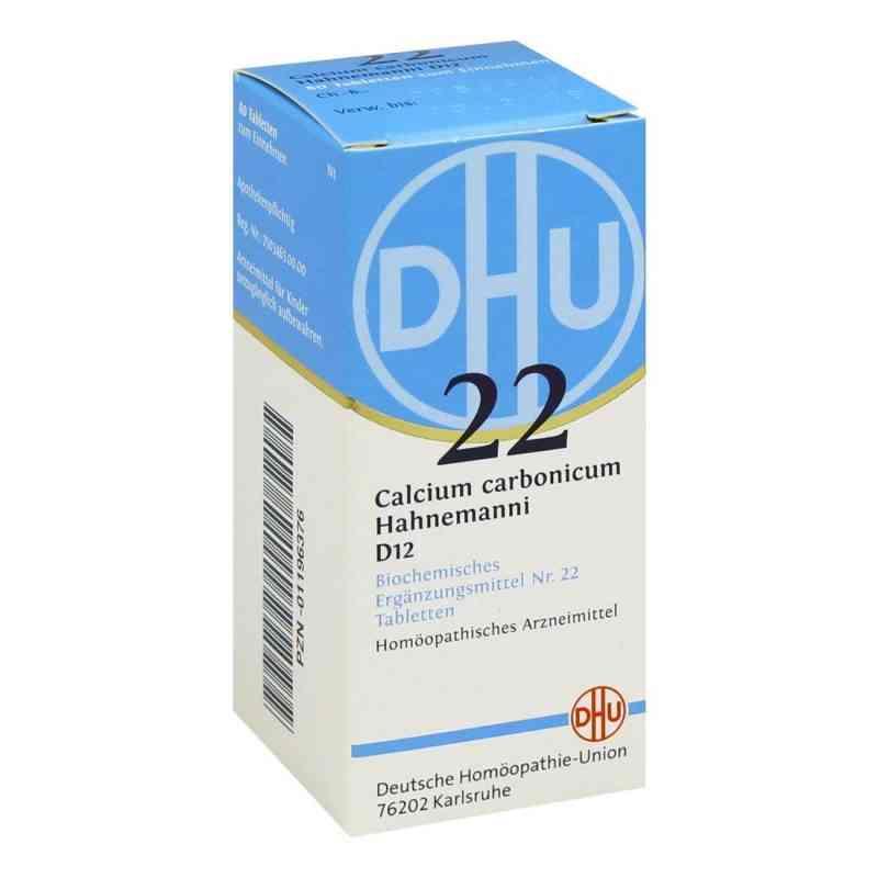 Biochemie Dhu 22 Calcium carbonicum D12 Tabletten  bei deutscheinternetapotheke.de bestellen