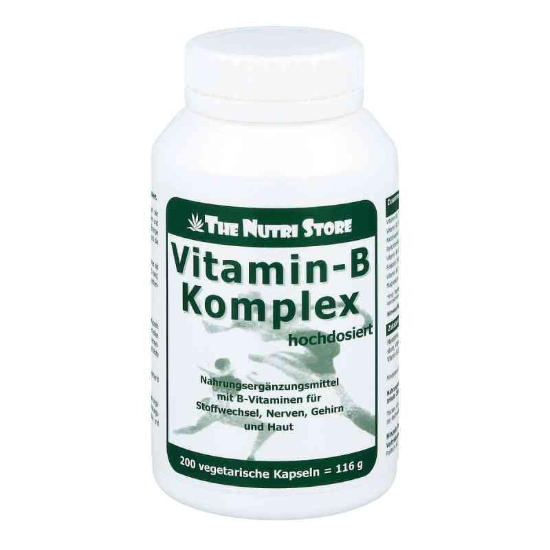 Vitamin B Komplex hochdosiert Kapseln  bei deutscheinternetapotheke.de bestellen
