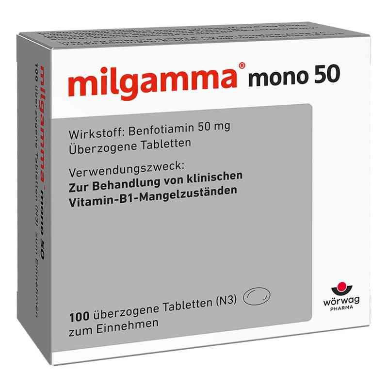Milgamma mono 50 überzogene Tabletten  bei deutscheinternetapotheke.de bestellen