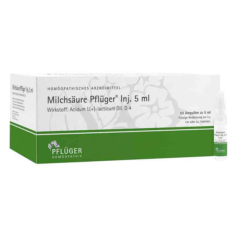 Milchsäure Pflüger Injektionslösung 5 ml  bei deutscheinternetapotheke.de bestellen