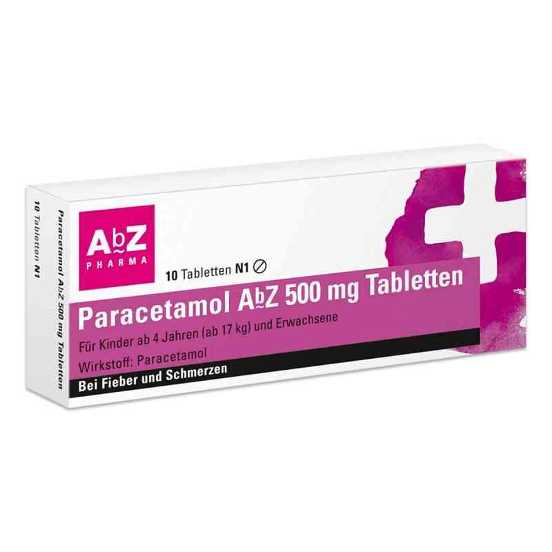 Paracetamol AbZ 500mg Tabletten  bei deutscheinternetapotheke.de bestellen