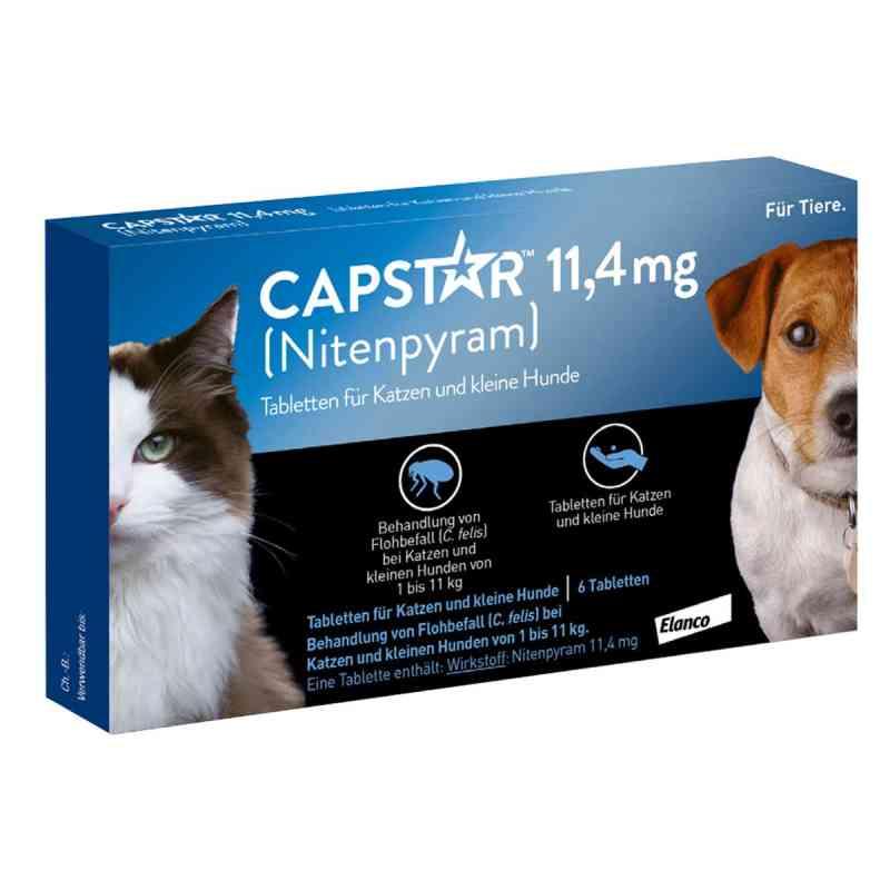 Capstar 11,4 mg für Katzen und kleine Hunde Tabletten  bei deutscheinternetapotheke.de bestellen