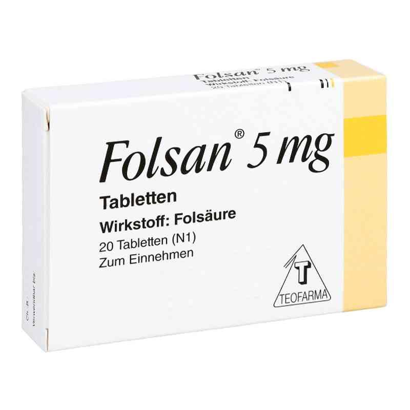 Folsan 5 mg Tabletten  bei deutscheinternetapotheke.de bestellen