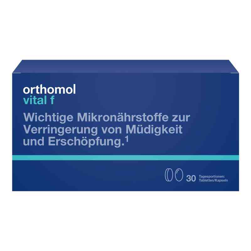 Orthomol Vital F 30 Tabletten /kaps.kombipackung  bei deutscheinternetapotheke.de bestellen