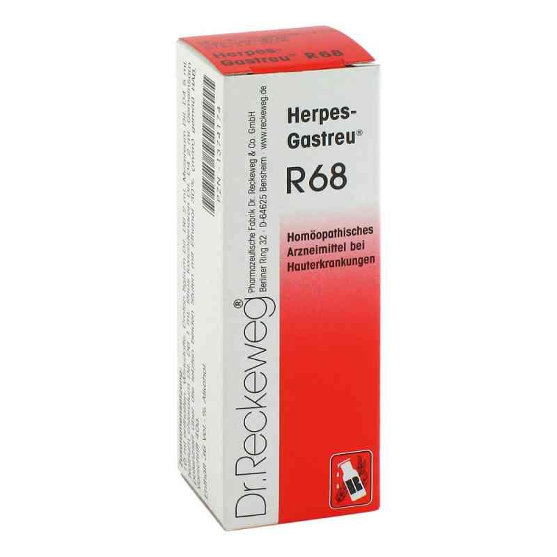 Herpes Gastreu R 68 Tropfen zum Einnehmen  bei deutscheinternetapotheke.de bestellen