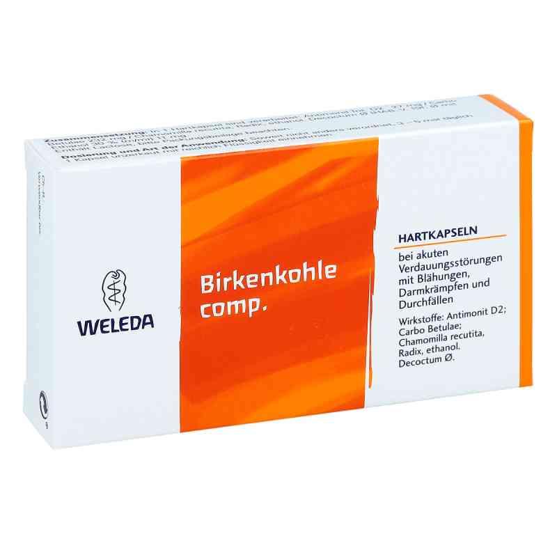Birkenkohle compositus Hartkapseln  bei deutscheinternetapotheke.de bestellen