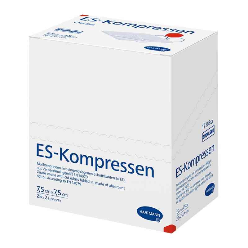 Es-kompressen steril 7,5x7,5 cm 8fach  bei deutscheinternetapotheke.de bestellen