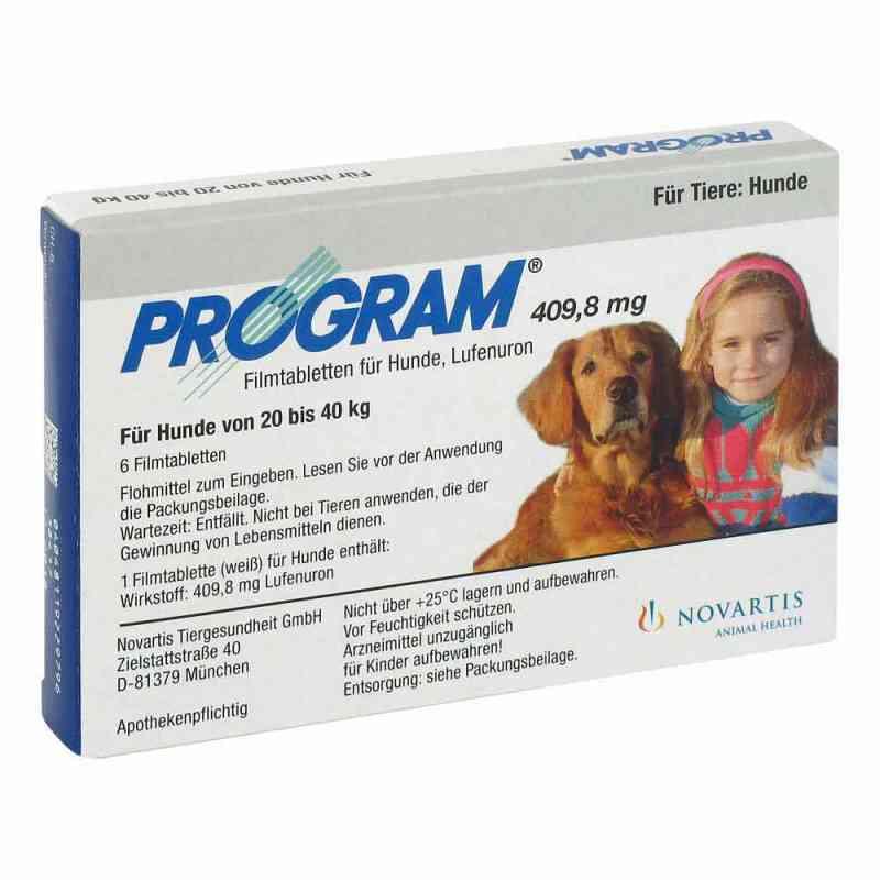 Program Tabletten für hunde 409,8mg 20-40kg  bei deutscheinternetapotheke.de bestellen