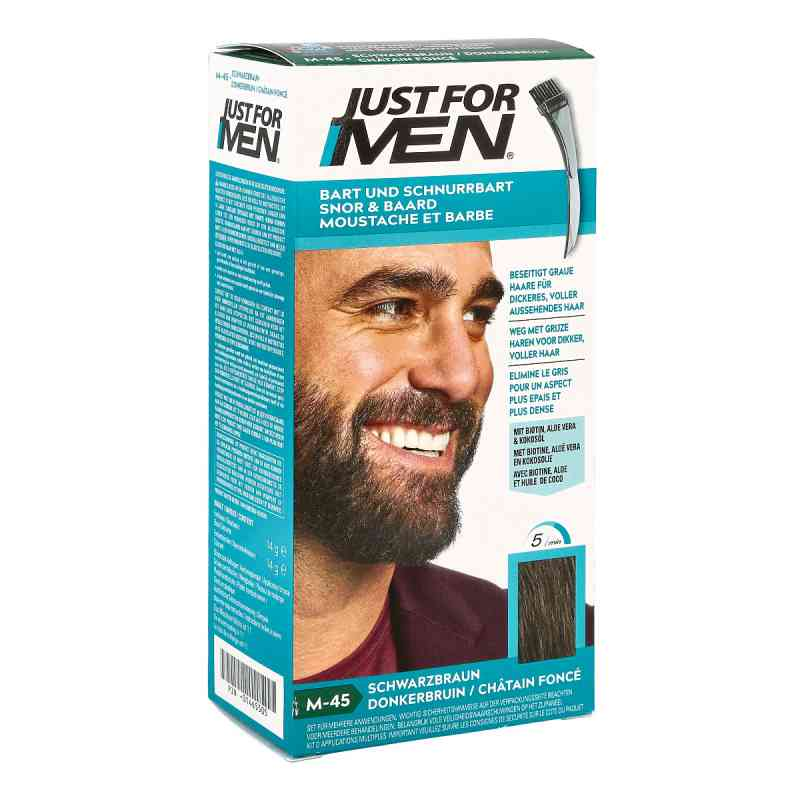 Just for men Brush in Color Gel schwarzbraun  bei deutscheinternetapotheke.de bestellen
