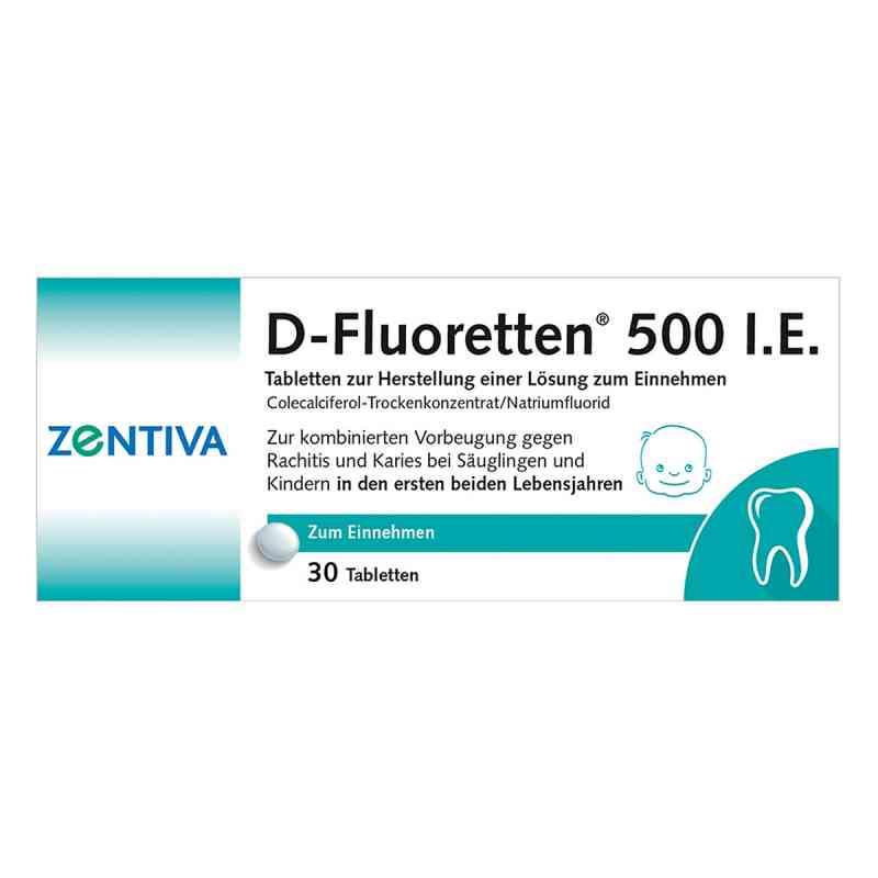 D-Fluoretten 500 internationale Einheiten  bei deutscheinternetapotheke.de bestellen