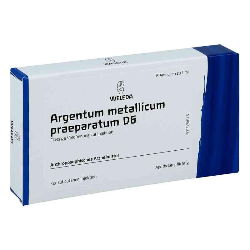 Argentum Metallicum Praep. D6 Ampullen  bei deutscheinternetapotheke.de bestellen