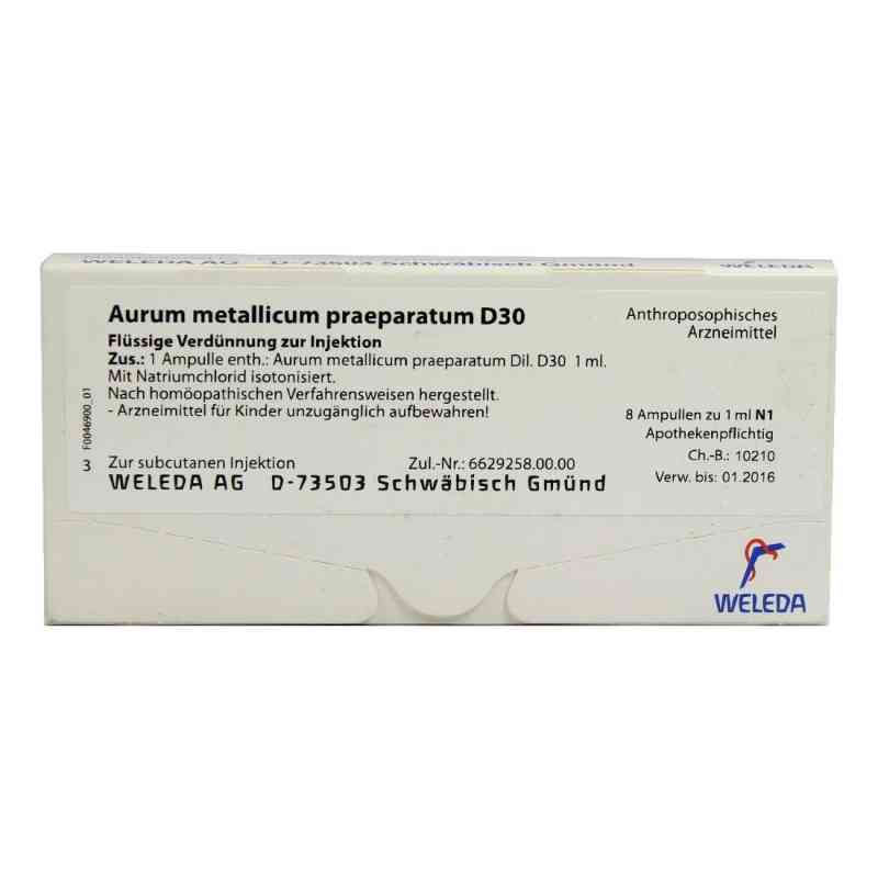 Aurum Metallicum Praep. D30 Ampullen  bei deutscheinternetapotheke.de bestellen