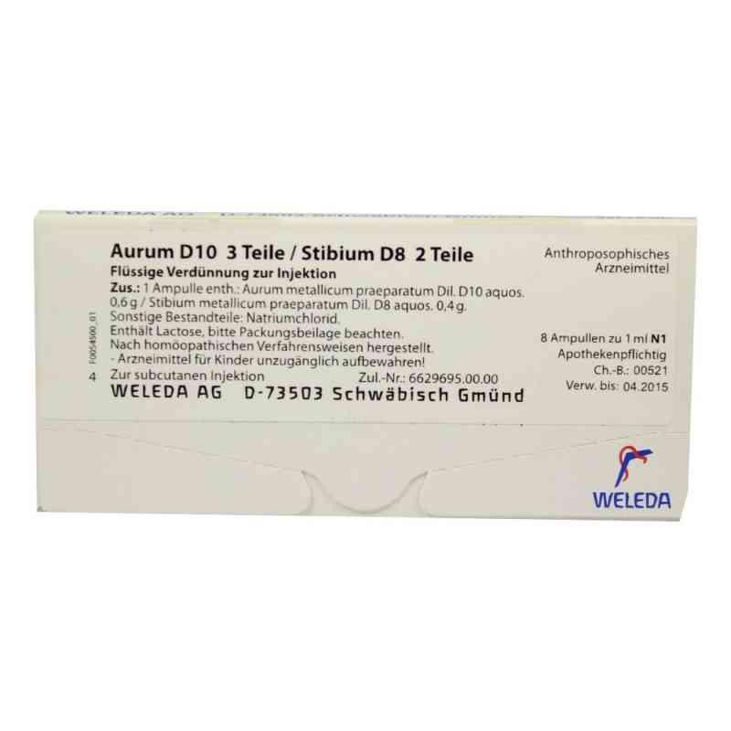 Aurum D10/ Stibium D8 Ampullen  bei deutscheinternetapotheke.de bestellen