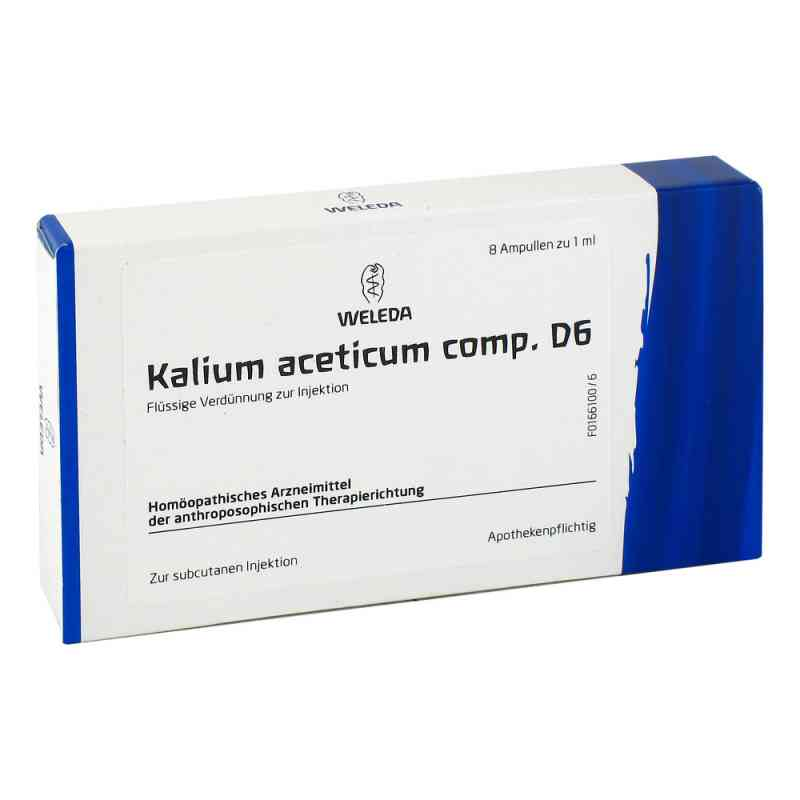 Kalium Acetic. Comp. D6 Ampullen  bei deutscheinternetapotheke.de bestellen