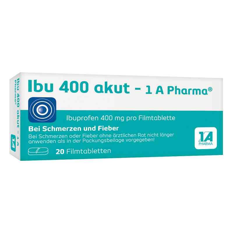 Ibu 400 akut-1A Pharma  bei deutscheinternetapotheke.de bestellen