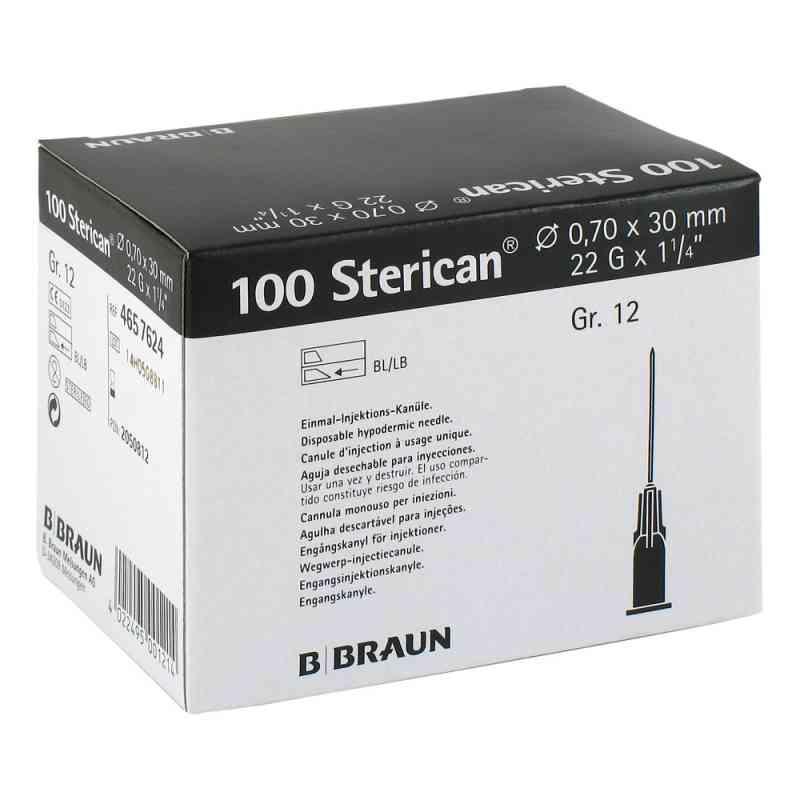 Sterican Kanüle luer-lok 0,70x30mm Größe 12  schwarz  bei deutscheinternetapotheke.de bestellen