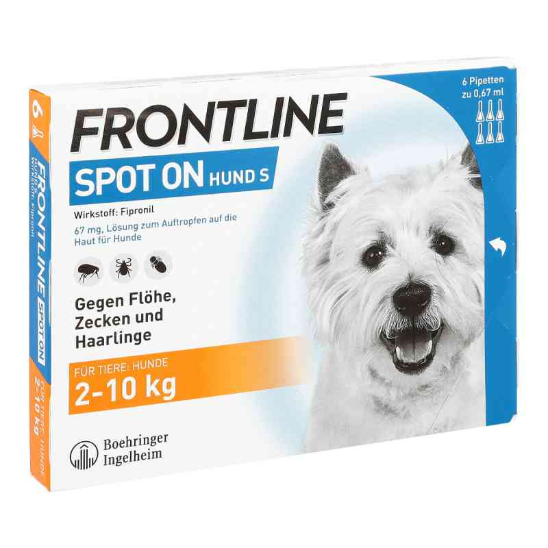 Frontline Spot on Hund 10 veterinär  Lösung  bei deutscheinternetapotheke.de bestellen