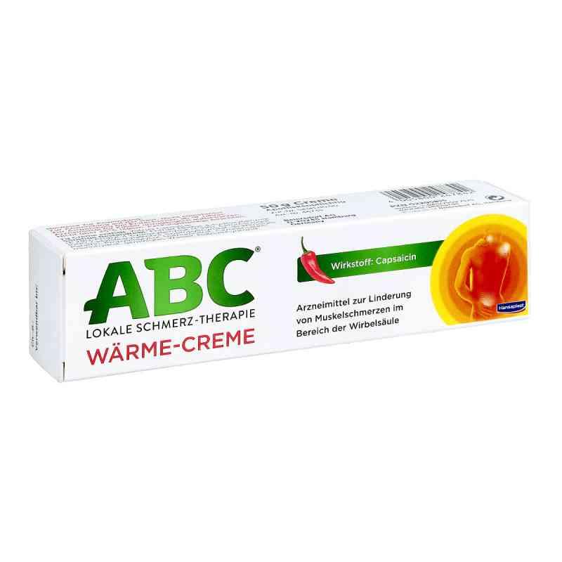 ABC Wärme-Creme Capsicum 0,75mg/g Hansaplast med  bei deutscheinternetapotheke.de bestellen