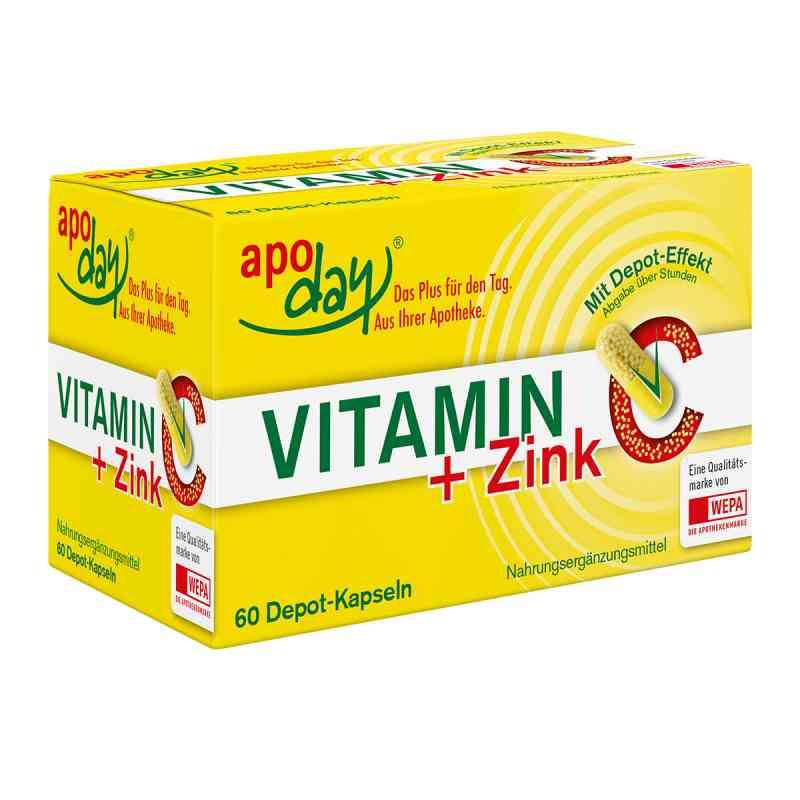 Vitamin C + Zink Depot Kapseln  bei deutscheinternetapotheke.de bestellen