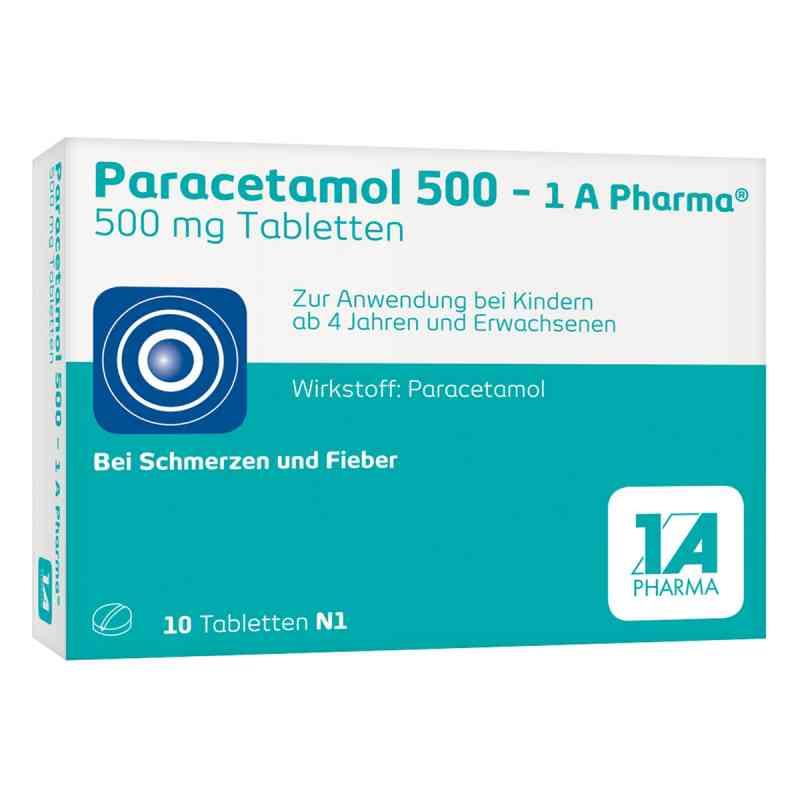 Paracetamol 500-1A Pharma  bei deutscheinternetapotheke.de bestellen