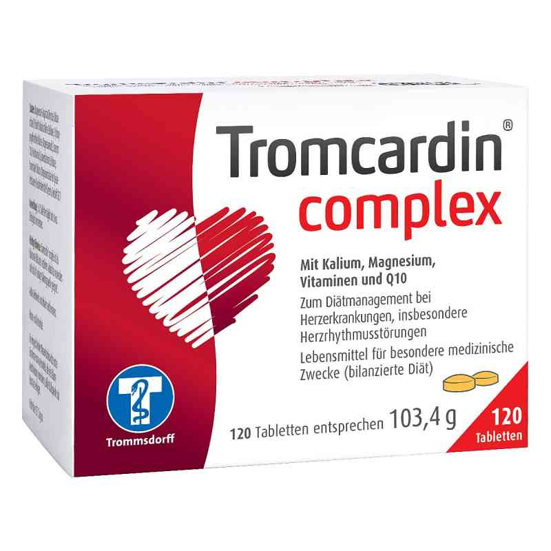 tromcardin complex tabletten 120 stk deutsche internet. Black Bedroom Furniture Sets. Home Design Ideas