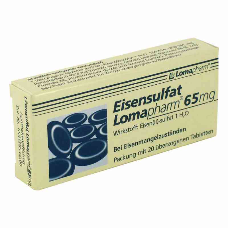 Eisensulfat Lomapharm 65mg  bei deutscheinternetapotheke.de bestellen
