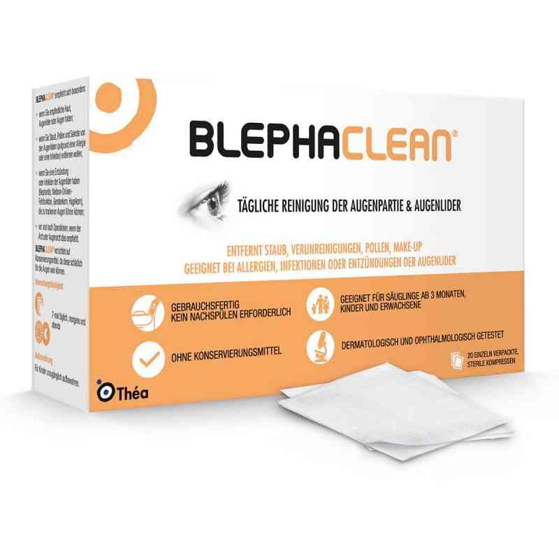 Blephaclean Kompressen sterile  bei deutscheinternetapotheke.de bestellen