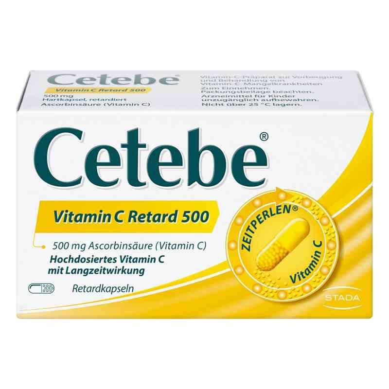 Cetebe Vitamin C Retardkapseln 500 mg  bei deutscheinternetapotheke.de bestellen
