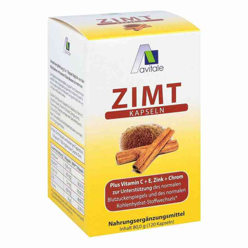 Zimt Kapseln 500 mg+Vitamin C+e  bei deutscheinternetapotheke.de bestellen