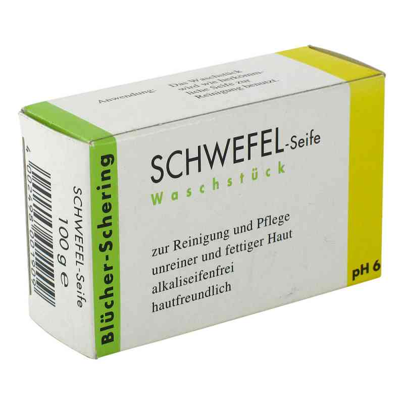 Schwefel Seife Blücher Schering  bei deutscheinternetapotheke.de bestellen