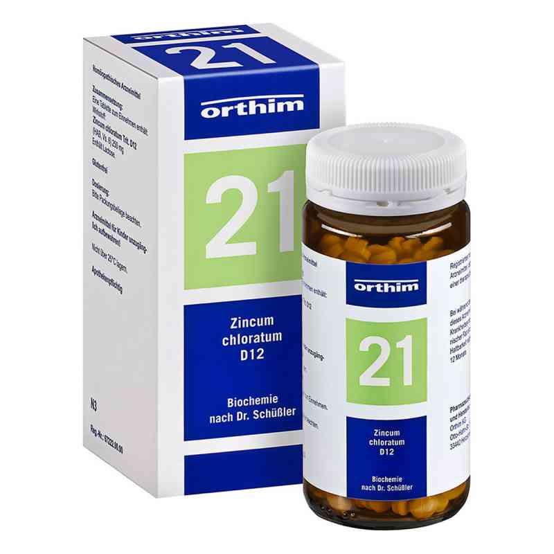 Biochemie Orthim 21 Zincum chloratum D12 Tabletten  bei deutscheinternetapotheke.de bestellen