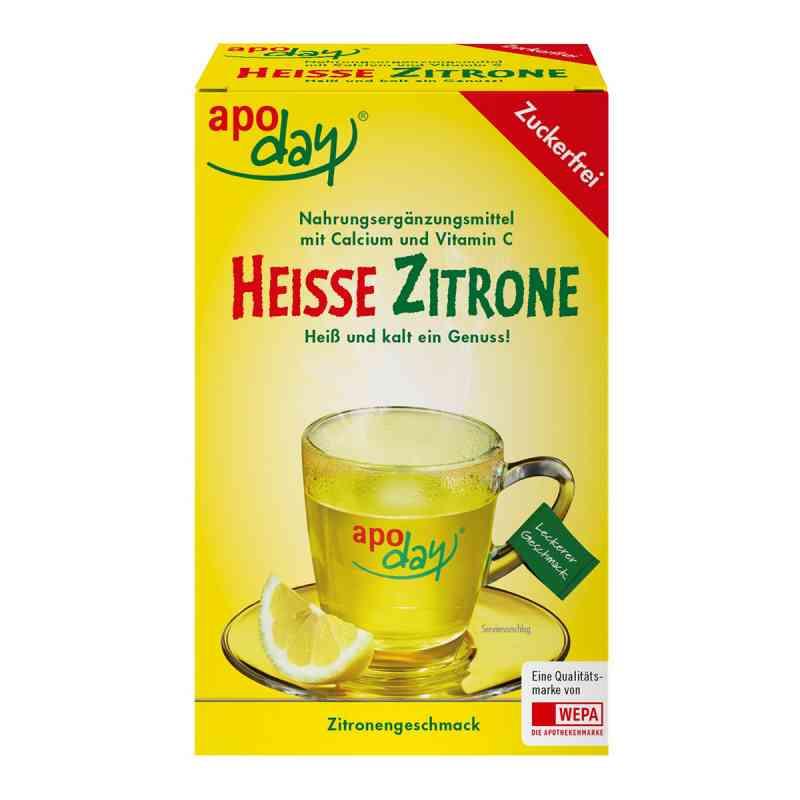 Apoday Heisse Zitrone Vitamine c und Calcium ohne Zucker Plv  bei deutscheinternetapotheke.de bestellen