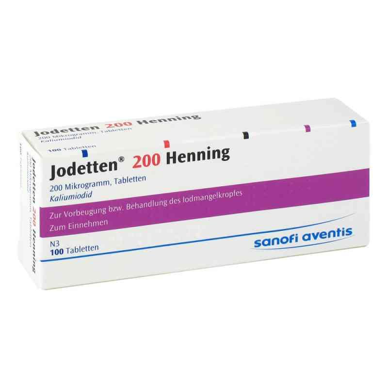 Jodetten 200 Henning 200 Mikrogramm  bei deutscheinternetapotheke.de bestellen