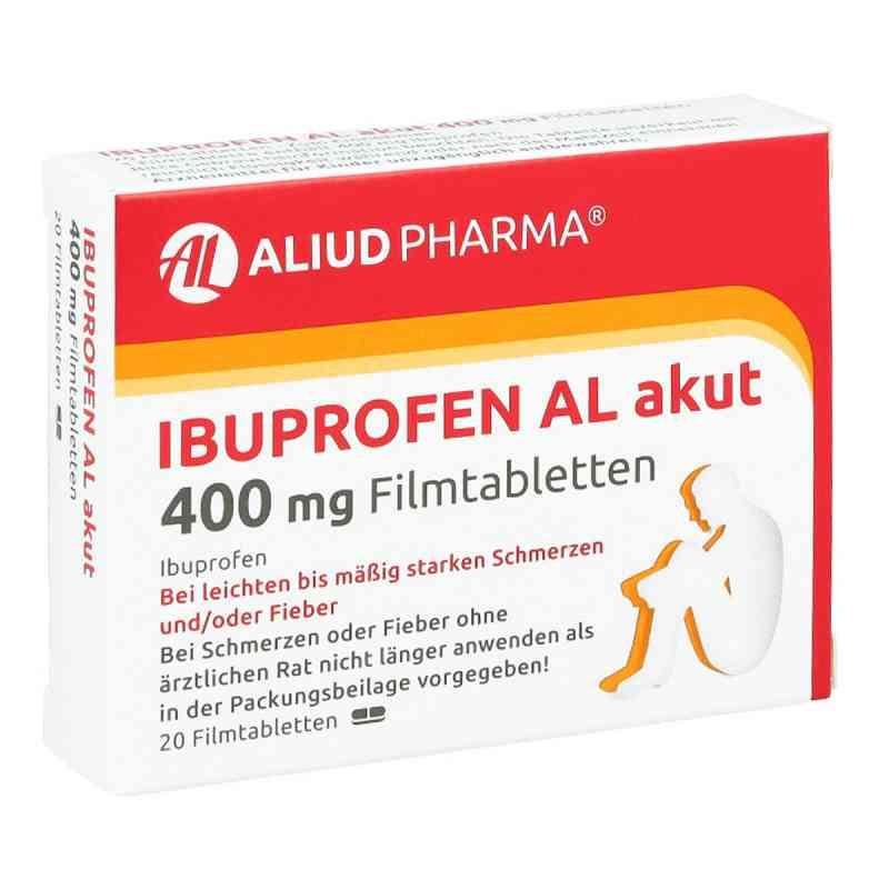 Ibuprofen AL akut 400mg  bei deutscheinternetapotheke.de bestellen